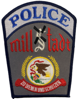 Millstadt Police Patch